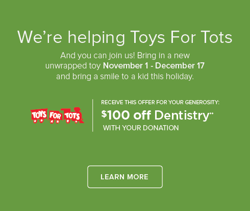 Tigard Triangle Smiles Dentistry and Orthodontics - Toys for Tots